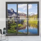 Powder coated china products sliding double hung glass windows With AS2047 in Australia & NZ