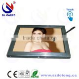 10 Percents Discounts 15 Inch LCD Industrial Touch Panel All In One Aluminum Industrial PC Enclosure