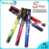 On sale 500 puffs colored disposable e hookah glass hookah shisha                                                                         Quality Choice