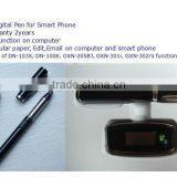 Newest bluetooth digital pen for smart phone GXN-403BT