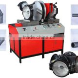 SHG315 Workshop plastic fitting Fusion Welding Machine for making elbow tee cross hdpe pipe fittings