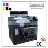 A3 size 6 color cake photo printing machine with low price