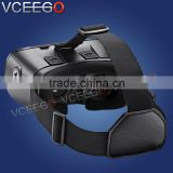 High quality optical resin lens 3d vr glasses virtual reality with bluetooth controller