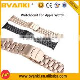 Alibaba New Arrival Wholesale Wrist Watch bands/Straps For Apple Watch,Cheap High Quality Stainless Steel Watch Band For iWatch