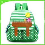 cute smile face for baby shoulder bag cartoon kids school backpack
