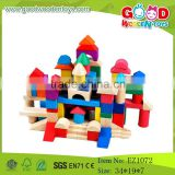 Traditional Wooden Toys Colorful Wooden Block Toys Wooden Building Bricks