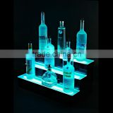 24 inch 3 Tier Acrylic Shelf Led Lighted Liquor Shelf, acrylic LED bottle glorifier                                                                         Quality Choice