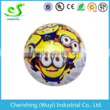 Phthalate free inflatable baby cartoon ball