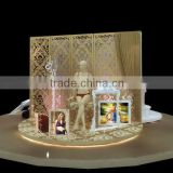 design and produce retail hanging bra pop up display stand
