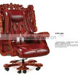 High end executive leather butterfly chair