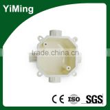 YiMing Hot Selling Plastic Product Pvc Electrical Junction Box