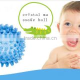 promotional manufacturer offer 9cm spiky shape massage ball body arm pain stress relief mini massage ball