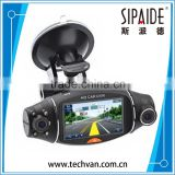 SPD117 Car Camera Car Dvr GPS Dual Camera Lens Camcorder Hd 1080p Dash Cam With Rear 2 Vehicle View Dashboard Ir Led Night                                                                         Quality Choice