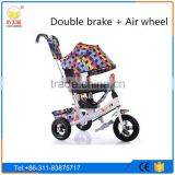 2016 good quality Kid's metal tricycle,deluxe trikes, baby plastic tricycle,children smart trike