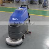 Cleaning machine hand held floor sweeper