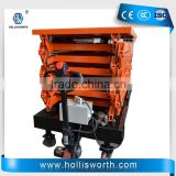 Top quality mobile hydraulic scissor lift platform for aerial working
