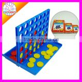 Promotional customized logo design desktop plastic bingo game table game set for kid and adult in color box