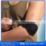 hebei aofeite high quality sports compression arm sleeve with elbow pad copper elbow sleeve