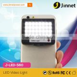 Mini Portable 16 LED Camera Fill-in Flash Selfie Light For Cell Phone Tablet