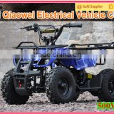 QWMOTO CE Best Christmas Gift 4 wheeler Electric ATV 36V 500W 800W MINI Electric Quad Bike Electric ATV for Kids/QW-MATV-01A