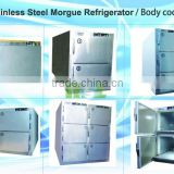 Stainless steel mortuary Freezer MSLMR01 with Danfoss compressor