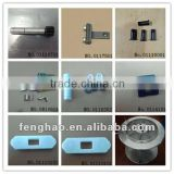 Muller parts--(shaft,pulley,roller holder,reed,needle seat,block ,beam)