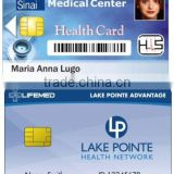PVC overlaminated health cards