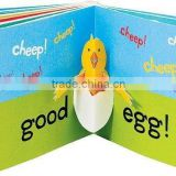 pop up cardboard customized children book printing