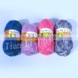Acrylic and Nylon Yarn Fancy Yarn Hand Knitting Yarn blended yarn