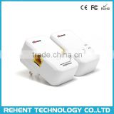 Rehentech 7Inova AV500 Mini 500M HomePlug AV 500Mbps Powerline PLC Ethernet Adapter