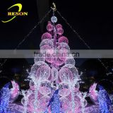 giant H:5m outdoor lighting christmas ball tree led tree