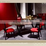 New JT16-01 marble oval dining table in dinning room from JL&C furniture lastest designs (China supplier)
