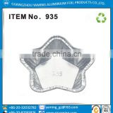 foil containers cake pan packaging specialty star shape cake holder