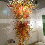 hotel glass sculpture and hotel Decoration Glass Ceiling Chandelier xo-2012818-1 and modern hotel project furniture for 5 star