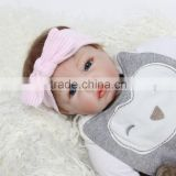 Newborn Baby Knit Beanie Crochet Hat-high elastic knitted bow hats