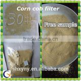 Polishing materials corn cob powder /corn cob meal /corn cob for animal feed