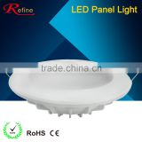 New design of different size round led panel light in 2016