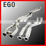 2001-06 STAINLESS STEEL EXHAUST MIDDLE MID+DOWN PIPE MIDPIPE DOWNPIPE CATBACK EXHAUST FOR BMW E46 M3