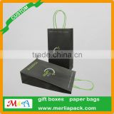 Electronics Kraft Paper Packaging Bags Mods e-cigarette liquid Accessoires Luxury Paper Twisted Handle Bag