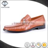 100% HAND MADE slip on leather moccasin dress shoes long shoes can make big size italian men style