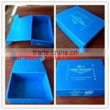 PP corrugated plastic Corflute box wit lids for fish,oysters,seafood