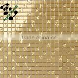 SMG13 Luxury wall tiles 3D Handcraft mosaic Goldfoil glass mosaic