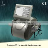 Non Surgical Ultrasound Fat Removal Portable Ultrasonic Cavitation Radio Frequency Slimming Machine 5 Handles China Factory High Quality Skin Care