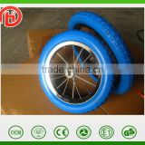12/14 inches alloy PU foam child bicycle wheel ,kid bike wheel ,Baby carrier wheel