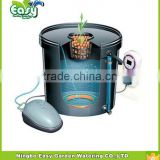 DWC Hydroponics system with1 site of basket cup. 20L Bucket system .Home hydroponic system.