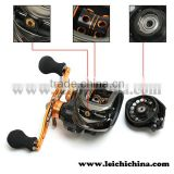 Magnetic brake system, Titanium coated line guide bait caster reel