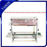 INQUIRY ABOUT Yason Automatic Horizontal Continuous Plastic Bag Band Sealing Machine FR770