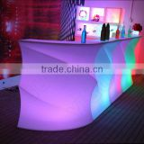 specific use bar set and general use commercial furniture illuminated led bar counter table