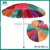 2014 promotion folding beach umbrella