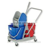 factory directly offer! double mop wringer trolley